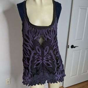 Free People - RARE…butterfly blouse
